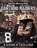 Front cover for the book A Season of Excellence: Oakland Raiders by San Jose Mercury News