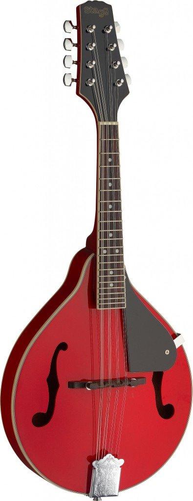 Stagg M20 RED Bluegrass Mandolin - Red