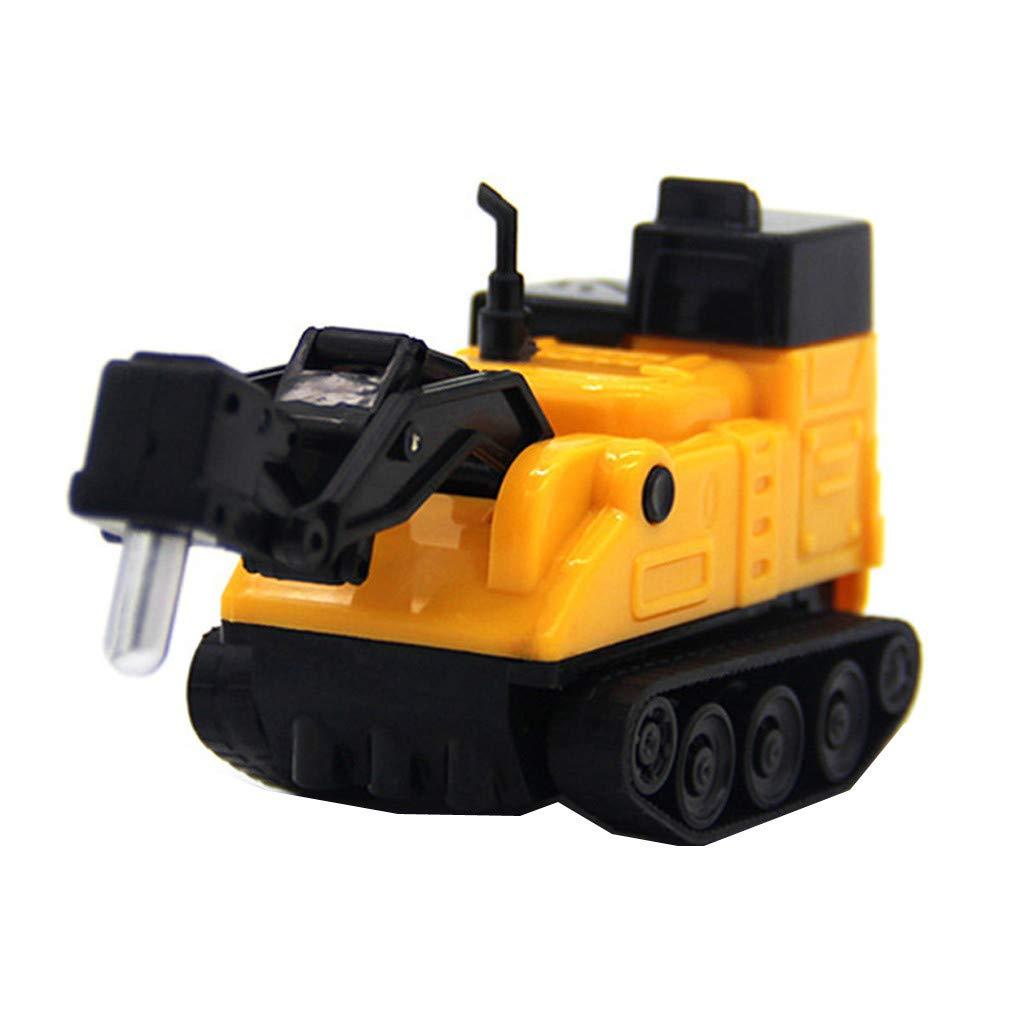 Piebo Magic Novelty Toy Model Follow Black Line Follow Pen InductiveTruck Car Toys For Kids & Children (A)