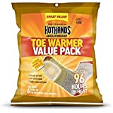 HotHands Adhesive Toe Warmer-12 Count Pack