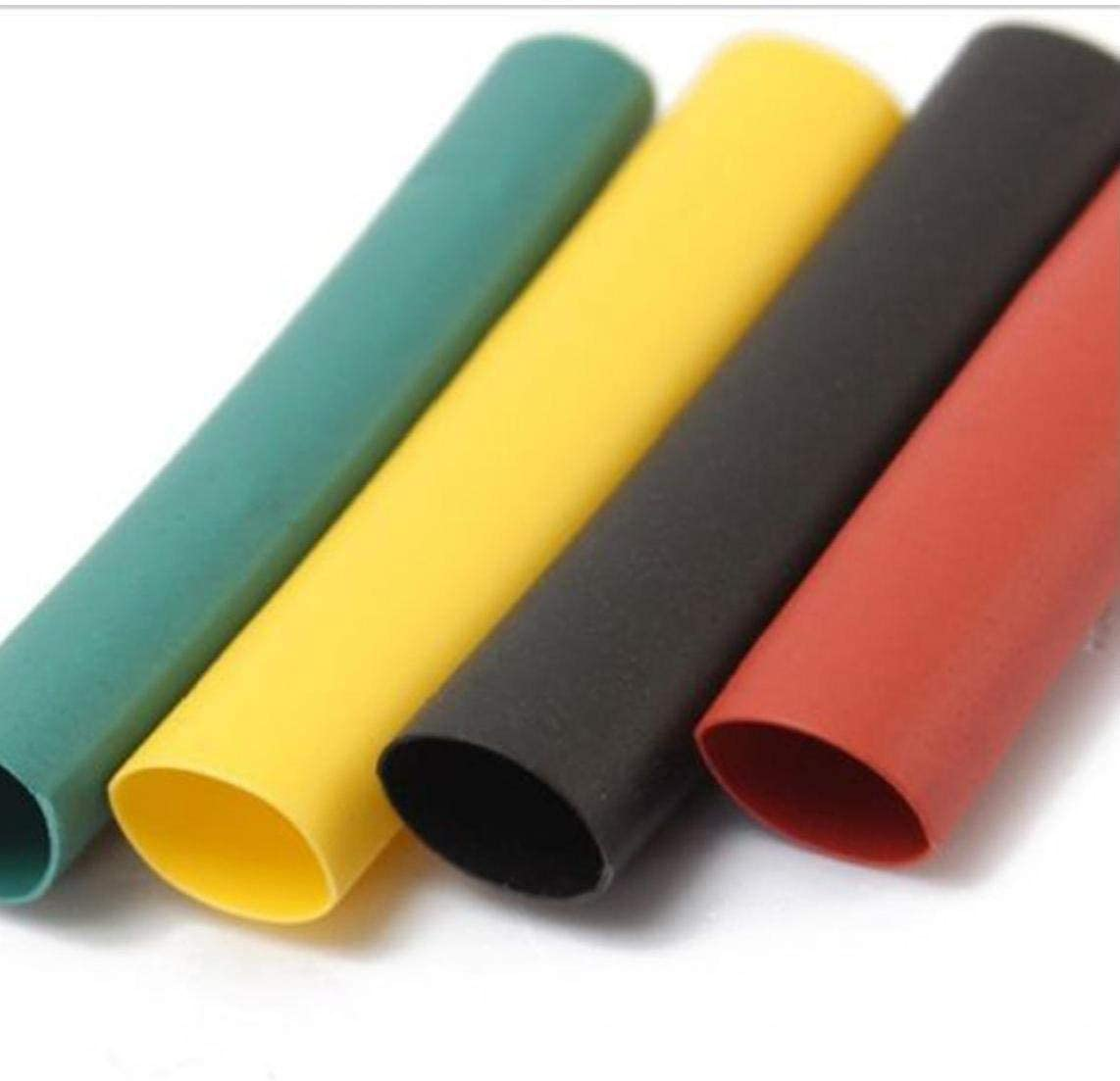 OMMO LEBEINDR Heat-shrink Tubing Wire Protector Dual Wall Adhesive Heat Shrink 1 Set Colorful Tube Sets 328Pcs