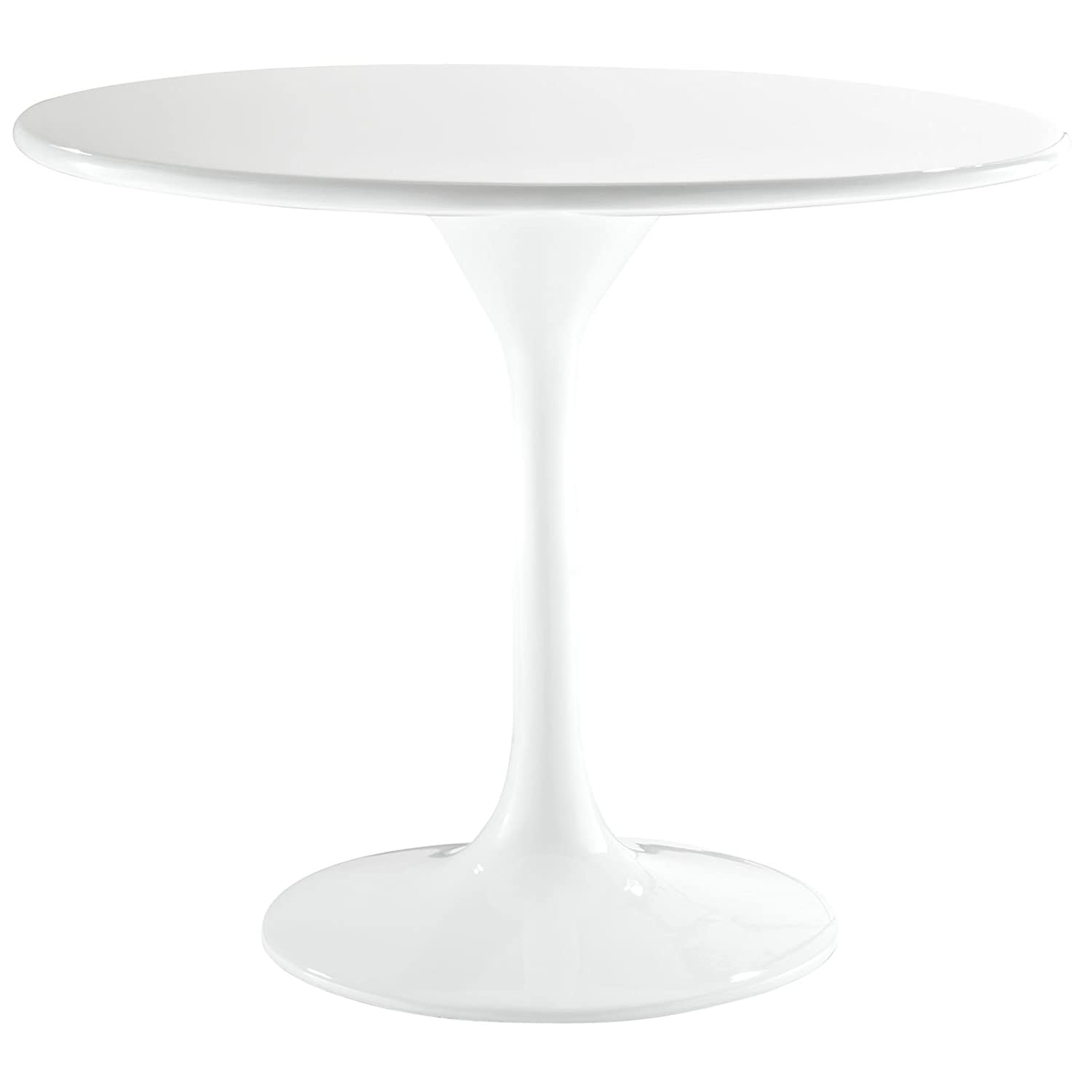 Amazoncom Modway 24 Eero Saarinen Tulip Side Table in White