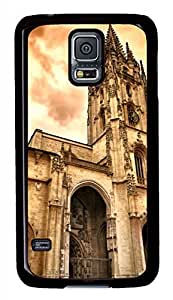 Oviedo Cathedral Black Hard Case Cover Skin For Samsung Galaxy S5 I9600