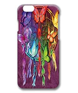 Rainbow Butterfly Dreamcatcher Custom Protective 3D Case for iPhone 6 4.7 -1220430