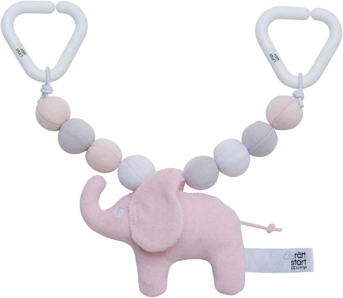 Babysutten KINDERWAGENKETTE Elefant grau R/ÄTT Start
