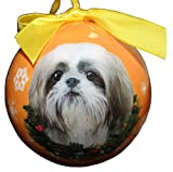 american bulldog puppies for sale - Shih Tzu Christmas Ornament Shatter Proof Ball Easy To Personalize A Perfect Gift For Shih Tzu Lovers