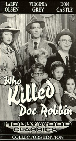 Who Killed Doc Robbin [VHS]
