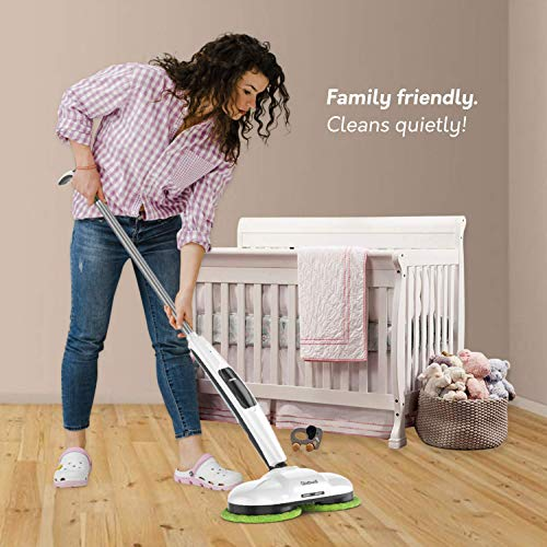 Gladwell Cordless Electric Mop 3 In 1 Spinner Scrubber