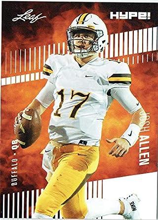 Josh Allen 2018 Leaf HYPE! Football Rookie 25 Card Lot Buffalo Bills  5 16922181e