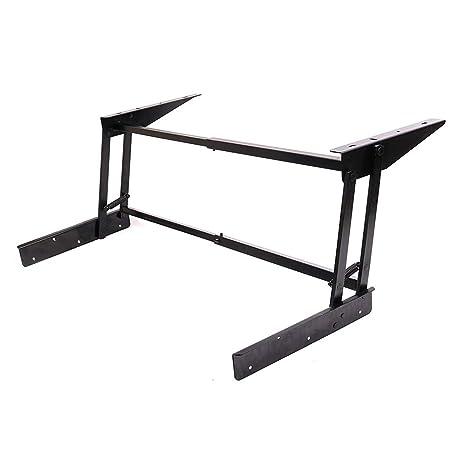 Levante el mecanismo del escritorio de la mesa de centro superior ...