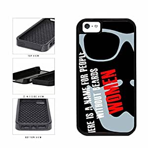 People Without Beards are Women Dual Layer Phone Case Back Cover Apple iPhone 5 5s includes BleuReign(TM) Cloth and Warranty Label