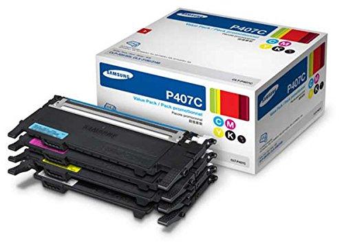 Samsung CLT-P407C OEM Toner - CLP-325W CLX-3185 CLX-3185FW C