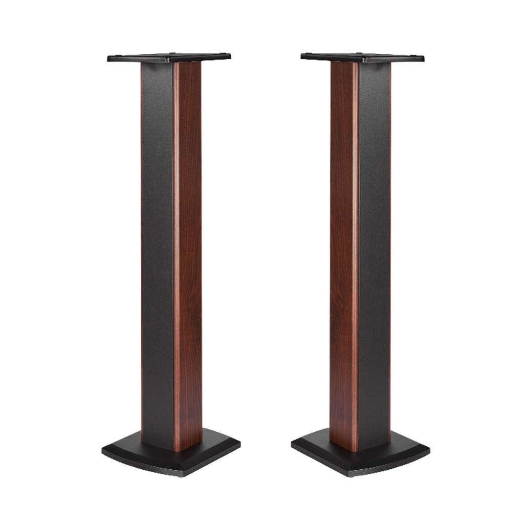 Speaker Stands Monitor Stands Bookshelf Stage Music Room Sound Shelf Bearing Weight 25kg Home Theatre (Color : Wood Color-B, Size : 272360cm) by Speaker Stands