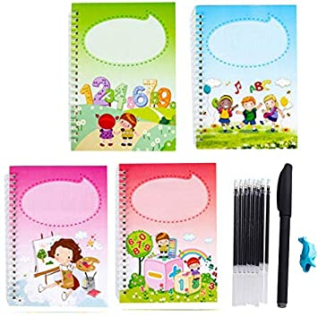 Magic Calligraphy That Can Be Reused Handwriting Copybook Set for Kid Writing