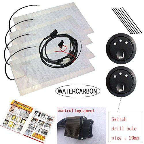 carbon fiber seat heater kit hi lo