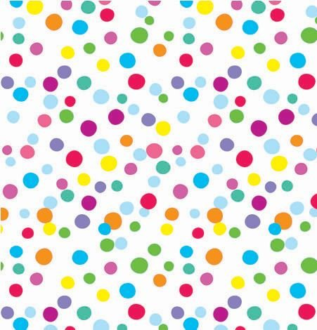 """Ditty Dots Gift Wrapping Paper Roll 24"""" X 15'"""