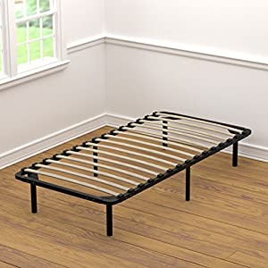 Amazon Handy Living Wood Slat Bed Frame Twin XL
