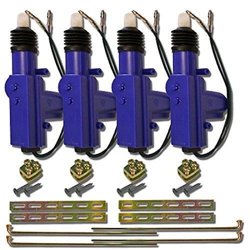- Heavy Duty Universal 12 Volt 360 Degree Power Motor Door Lock Actuator (4)