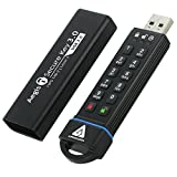 Apricorn Aegis Secure Key 16 GB FIPS 140-2 Level 3 Validated 256-bit Encryption USB 3.0 Flash Drive (ASK3-16GB)