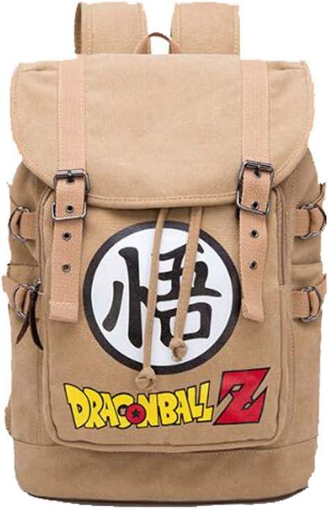 Weeck Anime Dragon Ball Z Goku Cosplay Backpack Bookbag Laptop Bag School Bag (1)