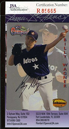 BILLY WAGNER JSA COA Autographed 1994 TED WILLIAMS Authentic Hand Signed ()