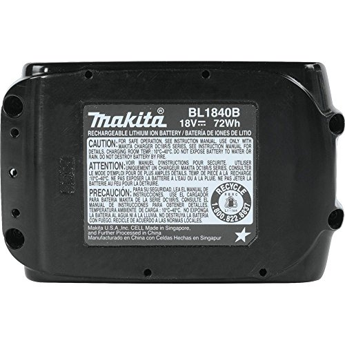 088381463904 - Makita BL1840B-2 18V LXT Lithium-Ion 4.0Ah Battery Twin Pack carousel main 2