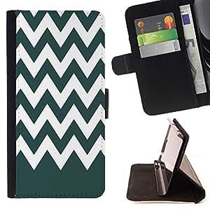 King Case - FOR HTC One M8 - Low profile is not bad - Prima caja de la PU billetera de cuero con ranuras para tarjetas, efectivo Compartimiento desmontable y correa para la mu?eca