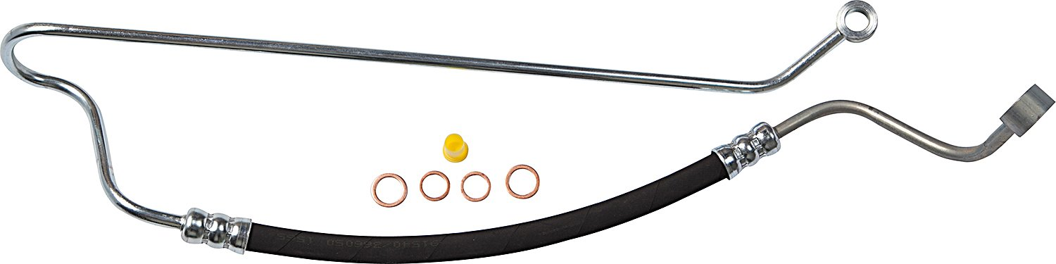 Gates 039-039-366050 Power Steering Hose Assembly 14 mm and 16 mm Banjo Ends 51.75 Length