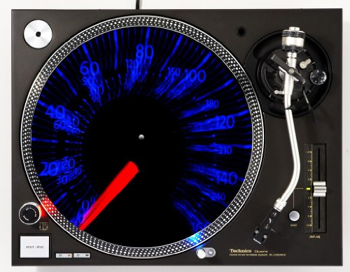 Speed Demon DJ Turntable Slipmat