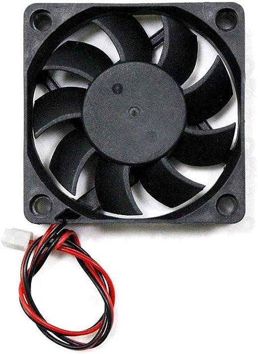 MYAMIA 12V 6015 60 x 60 x 15 mm Ventilador De Refrigeración con El ...