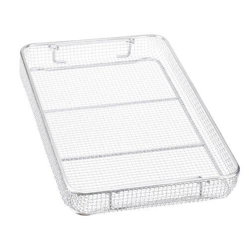 Miltex 740501 Three-Quarter Size Wire Basket, 18.25'' Length x 11'' Width x 3'' Height