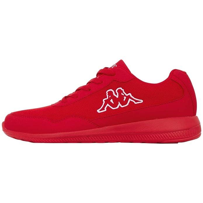 Kappa Follow Sneakers Damen Herren Unisex Rot (Sohle Rot)