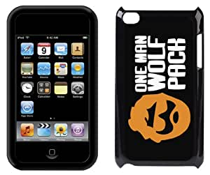 InCaseIt - One Man Wolf Pack Case Cover for Apple iPod Touch 4th Generation 4 4G - BLACK