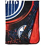 "NHL Ice Dash Micro Raschel Throw, 46"" x 60"""