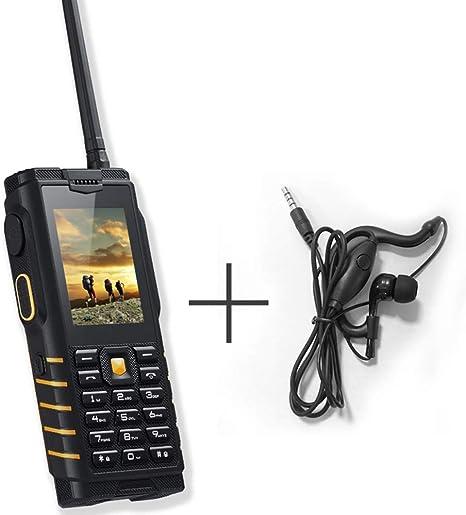 L&Z T2 Walkie-Talkie + teléfono móvil para Personas Mayores ...