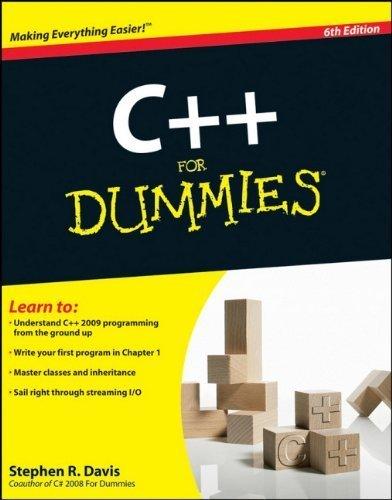 C++ For Dummies 6th edition by Davis, Stephen R. (2009) Taschenbuch