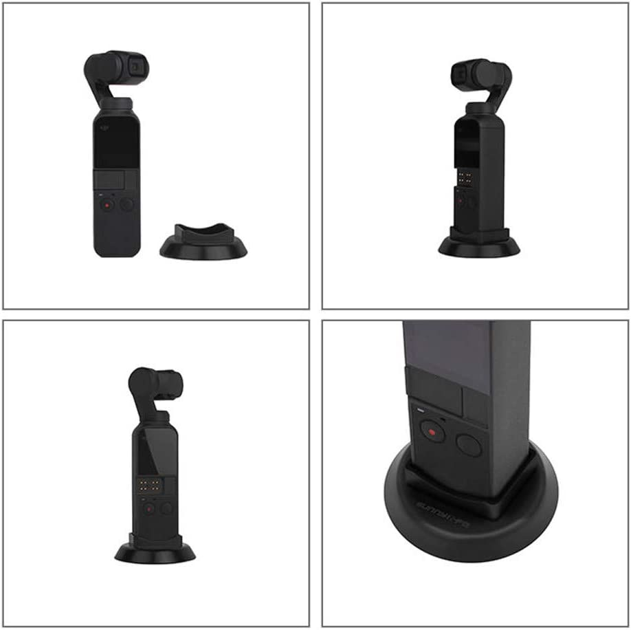 1PC Handheld Stabilizer Base Pstarts Base Mount Stand Compatible with DJI Osmo Pocket Accessories