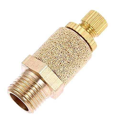 ZRM&E 5pcs Pneumatic Muffler Silencer 1/4inch Threaded Air Filter Flow Speed Controller Muffler Fitting