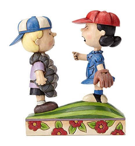 6541097d31 Amazon.com  Peanuts by Jim Shore Baseball Schroeder and Lucy Stone ...