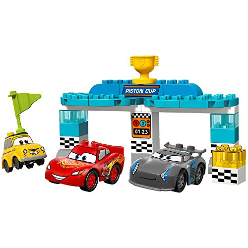 Checkered Flag Diecast - LEGO Duplo Piston Cup Race 10857 Building Kit