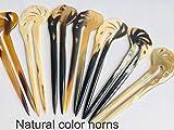 Double Hair Stick Buffalo Horn, Horn Hair Fork is