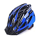 Cheap XARAZA Adult Cycling Bike Helmet Specialized for Mens Womens Safety Protection (Black and blue)