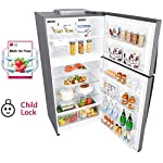 LG 630 L 3 Star with Inverter Double Door Refrigerator (GR-H812HLHQ, Shiny Steel)