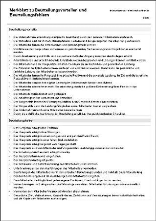 leitfaden und checklisten als ms word dateien auf cd rom mitarbeiter beurteilen beurteilung formbltter vorlagen muster beispiele personalentwicklung - Personalbeurteilungsbogen Muster