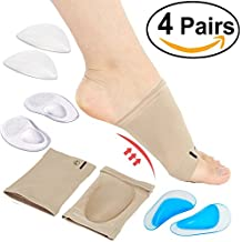 Arch Support Sleeve Set Shoe Insoles for Flat Feet Plantar Fasciitis Arthritis Relieves Pain