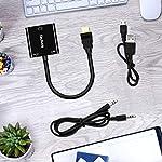 Adattatore-HDMI-a-VGA-Techole-HDMI-to-VGA-1080p-Full-HD-con-Cavo-di-Audio-e-di-Ricarica-Micro-USB-da-HDMI-a-VGA-per-PC-Portatili-HDTV-Apple-TV-PS43-XBOX-e-altri-Dispositivi-HDMI-Nero