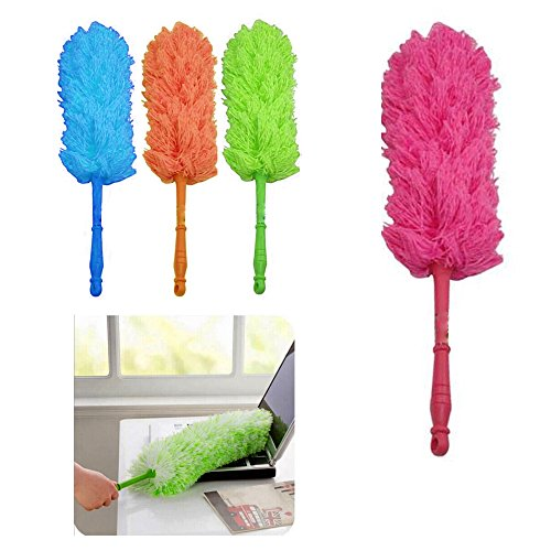 - 1 x Microfiber Duster Wiper Cleaner Sweeper Cleaning Dust Home Office Car 22