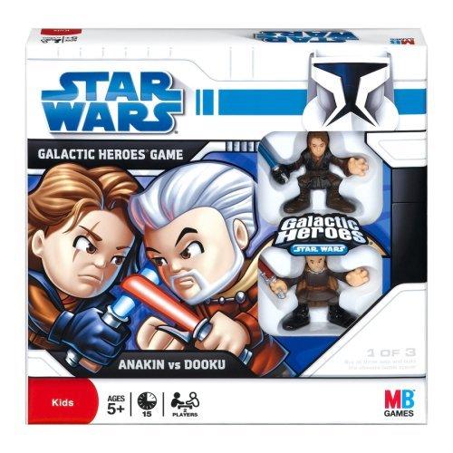 Star Wars: The Clone Wars Galactic Heroes Game - Anakin Skywalker vs. Count Dooku