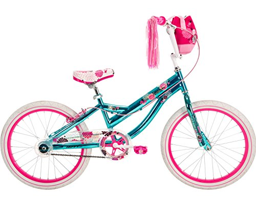 20'' Huffy Jazzmin Girls' Bike, Ages 5-9, Rider Height 44-56'' by Huffy