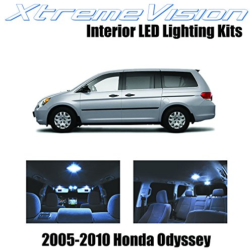 xtremevision-honda-odyssey-2005-2010-11-pieces-cool-white-premium-interior-led-kit-package-installat